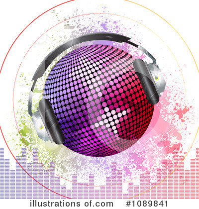 Disco Clipart #1089841 by elaineitalia