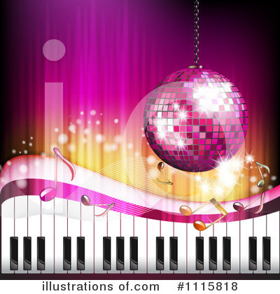 Royalty-Free (RF) Disco Ball Clipart Illustration by merlinul - Stock Sample #1115818