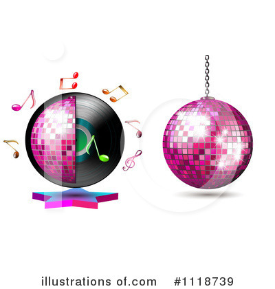 Disco Ball Clipart #1118739 by merlinul