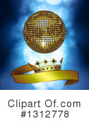 Disco Ball Clipart #1312778 by elaineitalia