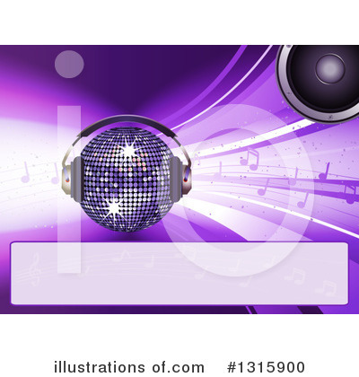 Disco Ball Clipart #1315900 by elaineitalia