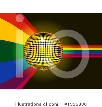 Disco Ball Clipart #1335880 by elaineitalia