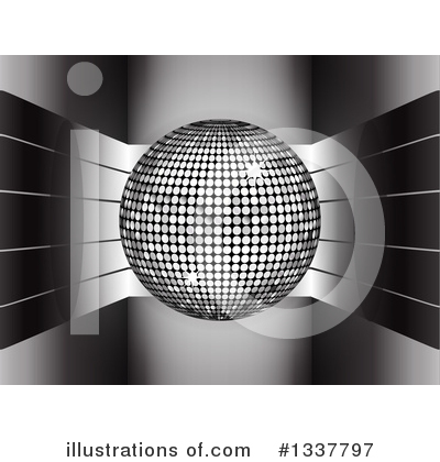 Disco Ball Clipart #1337797 by elaineitalia
