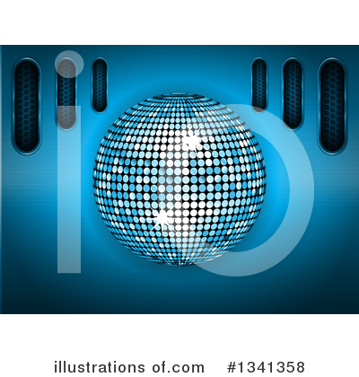 Disco Ball Clipart #1341358 by elaineitalia