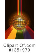 Disco Ball Clipart #1351979 by elaineitalia