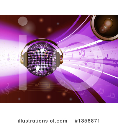 Disco Ball Clipart #1358871 by elaineitalia