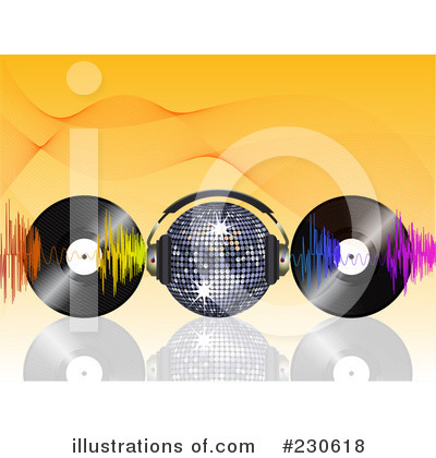 Vinyl Records Clipart #230618 by elaineitalia