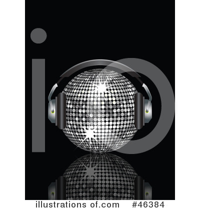 Royalty-Free (RF) Disco Ball Clipart Illustration by elaineitalia - Stock Sample #46384
