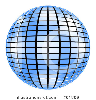 Disco Ball Clipart #61809 by ShazamImages