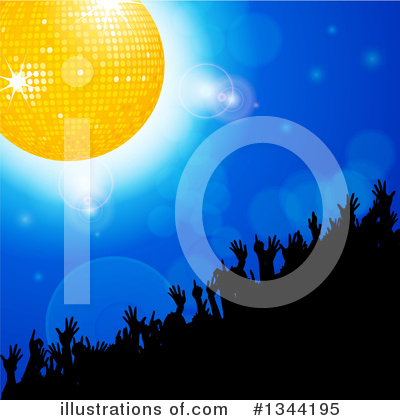 Disco Ball Clipart #1344195 by elaineitalia