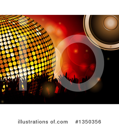 Disco Ball Clipart #1350356 by elaineitalia