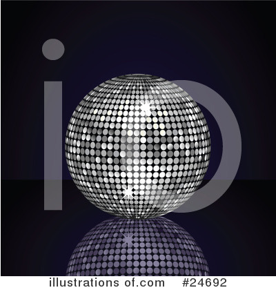 Disco Ball Clipart #24692 by elaineitalia