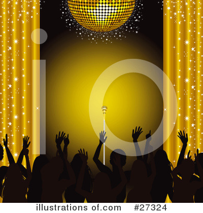 Royalty-Free (RF) Disco Clipart Illustration by elaineitalia - Stock Sample #27324