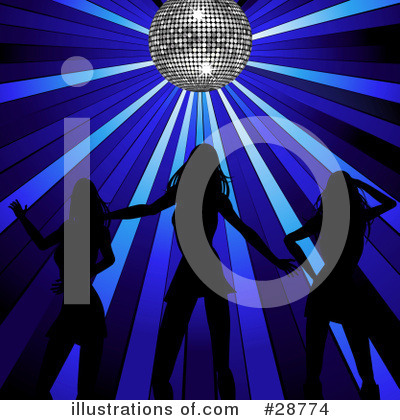 Royalty-Free (RF) Disco Clipart Illustration by elaineitalia - Stock Sample #28774