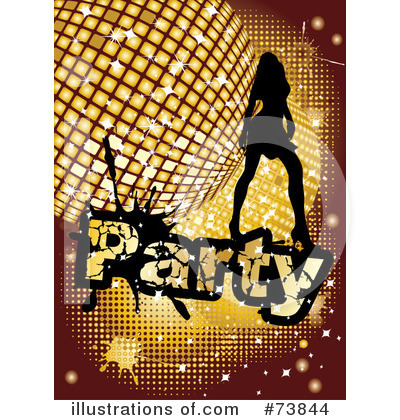 Royalty-Free (RF) Disco Clipart Illustration by MilsiArt - Stock Sample #73844