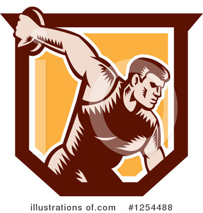 Track And Field Clipart #1254488 by patrimonio