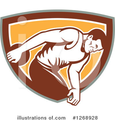 Track And Field Clipart #1268928 by patrimonio