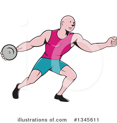 Track And Field Clipart #1345611 by patrimonio