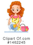 Dishes Clipart #1462245 by Graphics RF