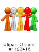 Diversity Clipart #1123416 by Leo Blanchette