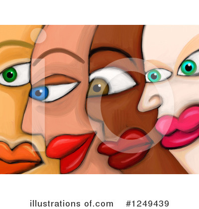 Royalty-Free (RF) Diversity Clipart Illustration by Prawny - Stock Sample #1249439