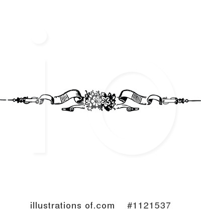 Royalty-Free (RF) Divider Clipart Illustration by Prawny Vintage - Stock Sample #1121537