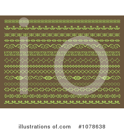Royalty-Free (RF) Dividers Clipart Illustration by KJ Pargeter - Stock Sample #1078638
