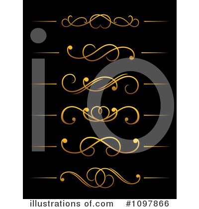 Heart Border Clipart #1097866 by Vector Tradition SM