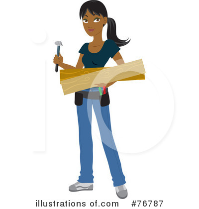 Indian Woman Clipart #76787 by Rosie Piter
