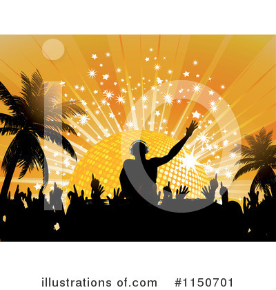 Disco Ball Clipart #1150701 by elaineitalia
