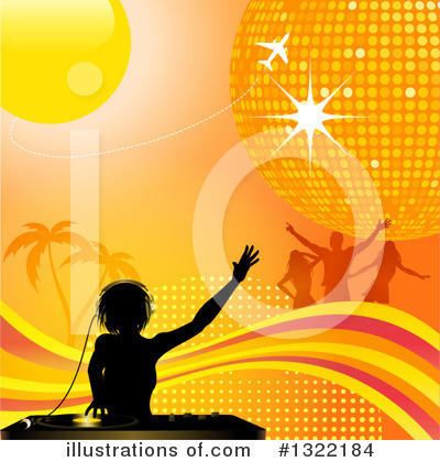 Disco Ball Clipart #1322184 by elaineitalia