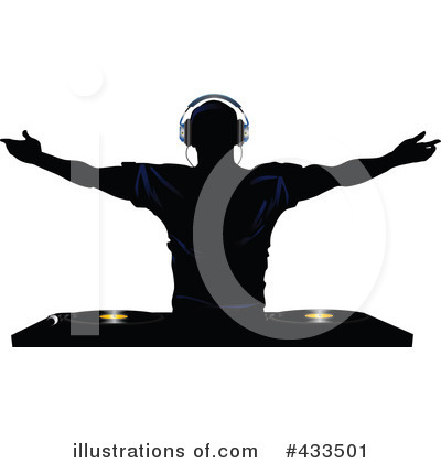 Royalty-Free (RF) Dj Clipart Illustration by elaineitalia - Stock Sample #433501