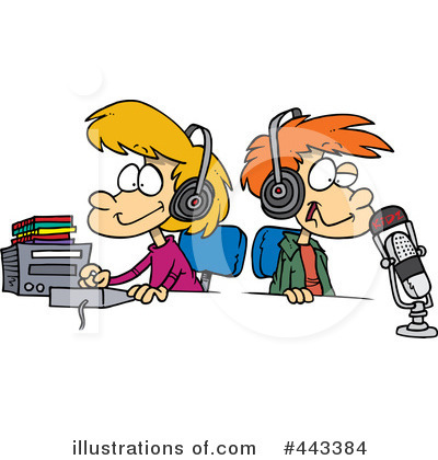 Radio Clipart #443384 by toonaday