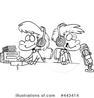 Radio Clipart #443414 by toonaday