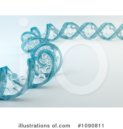 Royalty-Free (RF) Dna Clipart Illustration by Mopic - Stock Sample #1090811