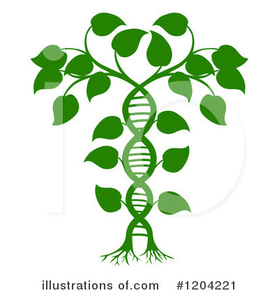 Dna Clipart #1204221 by AtStockIllustration