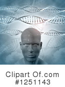 Dna Clipart #1251143 by KJ Pargeter