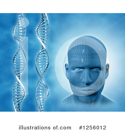 Dna Clipart #1256012 by KJ Pargeter