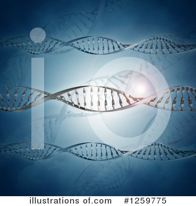 Dna Clipart #1259775 by KJ Pargeter