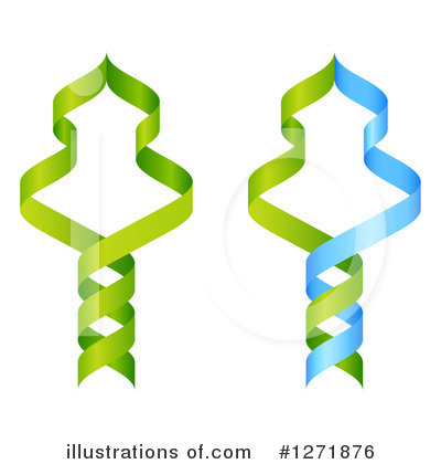 Dna Clipart #1271876 by AtStockIllustration
