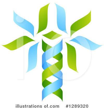 Dna Clipart #1289320 by AtStockIllustration