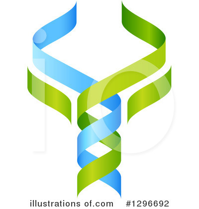 Dna Clipart #1296692 by AtStockIllustration