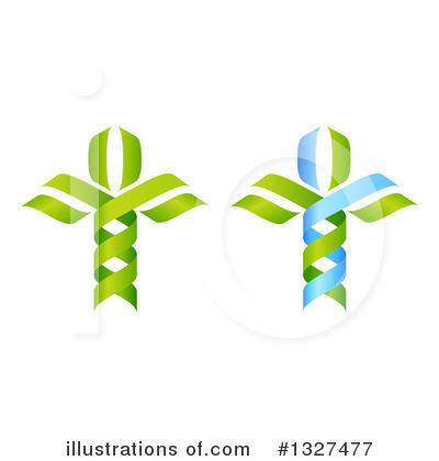 Dna Clipart #1327477 by AtStockIllustration