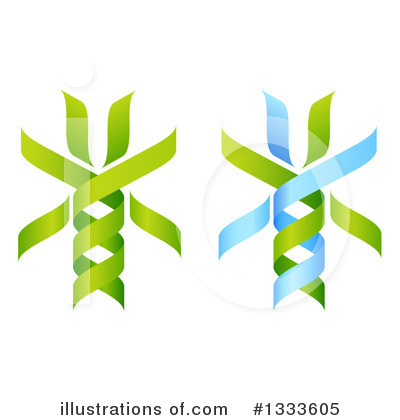 Dna Clipart #1333605 by AtStockIllustration