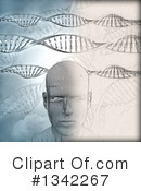 Dna Clipart #1342267 by KJ Pargeter