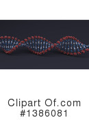 Dna Clipart #1386081 by KJ Pargeter