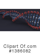 Dna Clipart #1386082 by KJ Pargeter