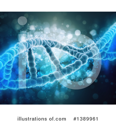 Dna Clipart #1389961 by KJ Pargeter