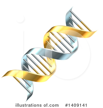 Dna Clipart #1409141 by AtStockIllustration