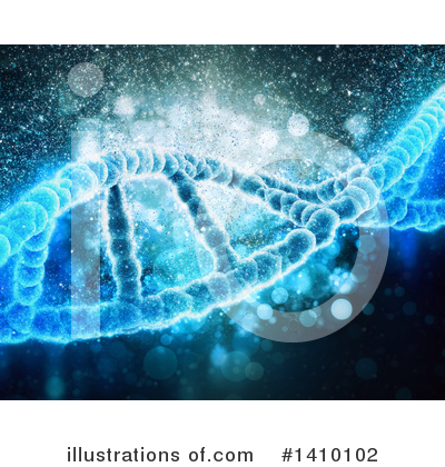 Dna Clipart #1410102 by KJ Pargeter